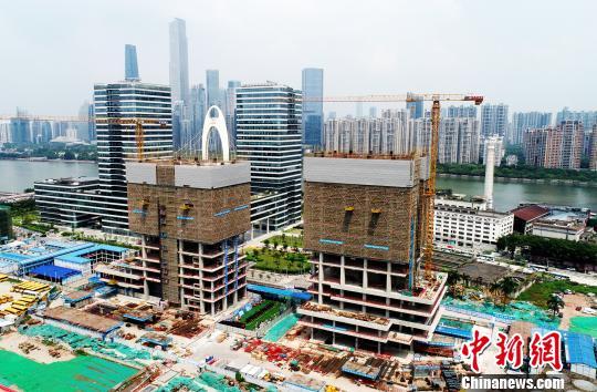 总投资30亿元华邦国际中心项目鸟瞰 郭军 摄